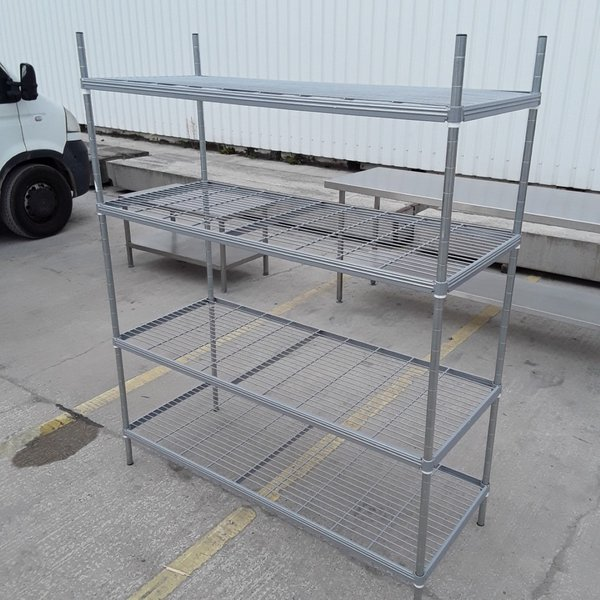 Used  4 Tier Rack Shelves (7512)