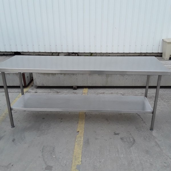 Used Stainless Steel Table (7511)