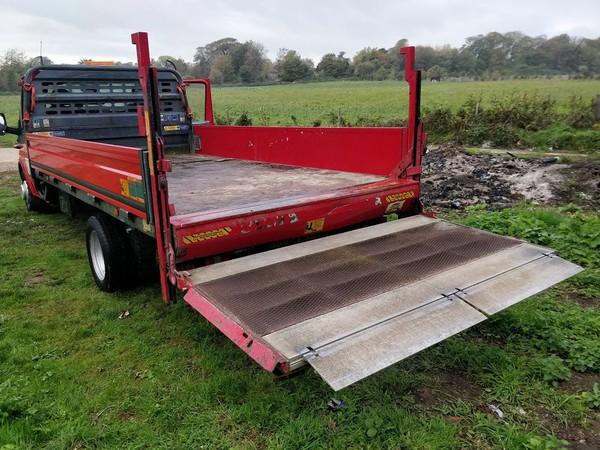 3.5ton flatbed transporter