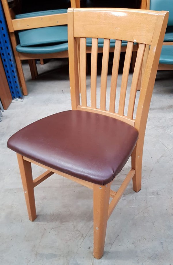 Used Wooden Chairs