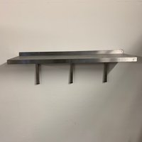 Used stainless steel shelf