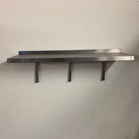 Used stainless steel shelf