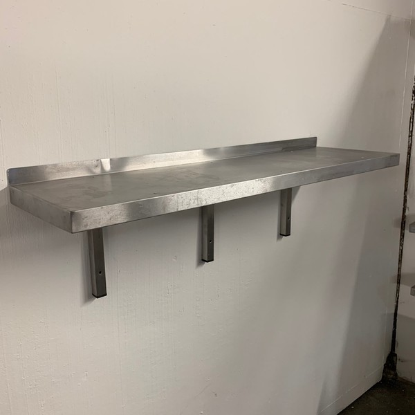 Commercial stainless steel shelf