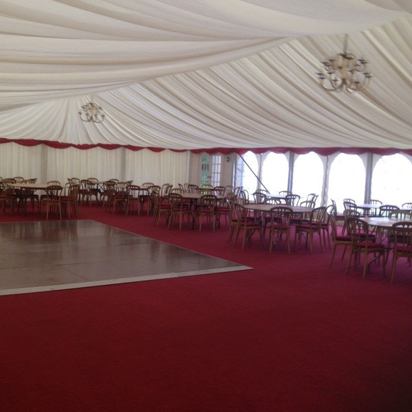 Secondhand marquee hire company
