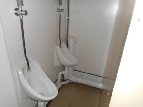 Anti vandal 2 + 1 toilet block
