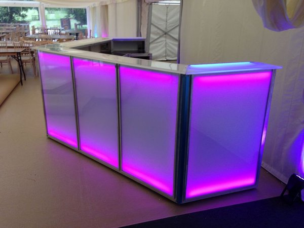 7 Section Lightweight Aluminium Modular Bar System