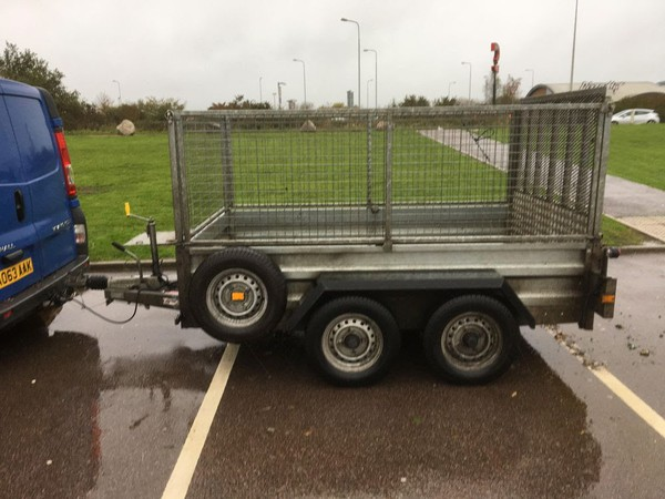 Used Indespension 8 x 5 Trailer