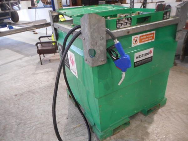 Used 1000l bunded fuel