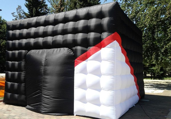 Inflatable cube marquee for sale