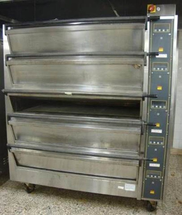 5 deck oven for sale