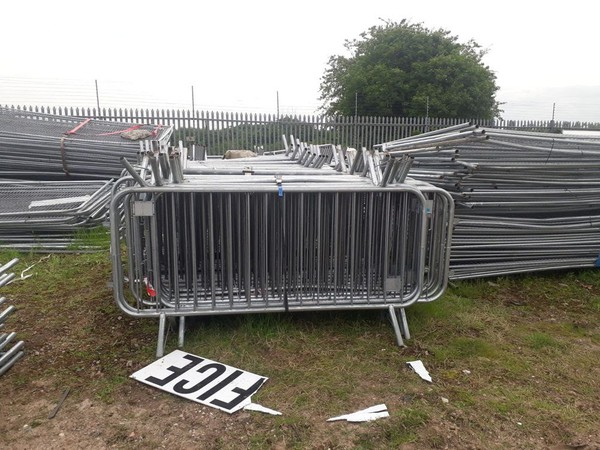 Secondhand barrier for sale
