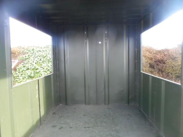 Secondhand smoking shelter