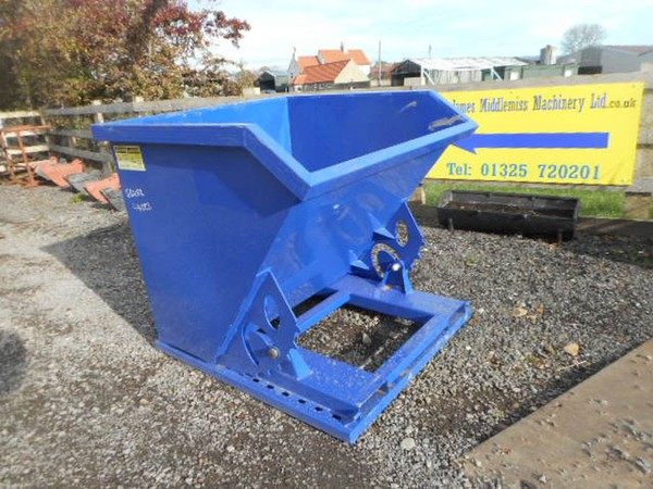 Forklift tipping skip for sale