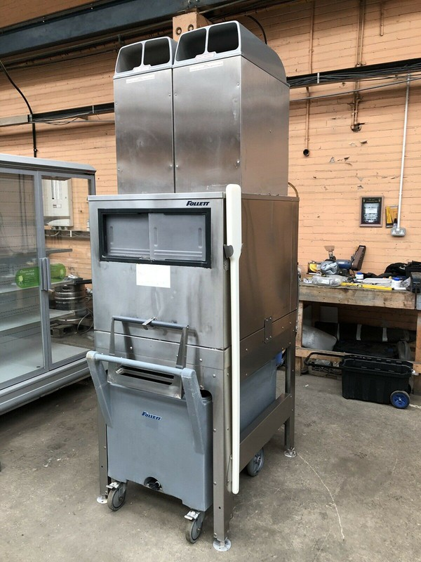 Follet Ice Flaker & Smart Cart With Inspection Pane