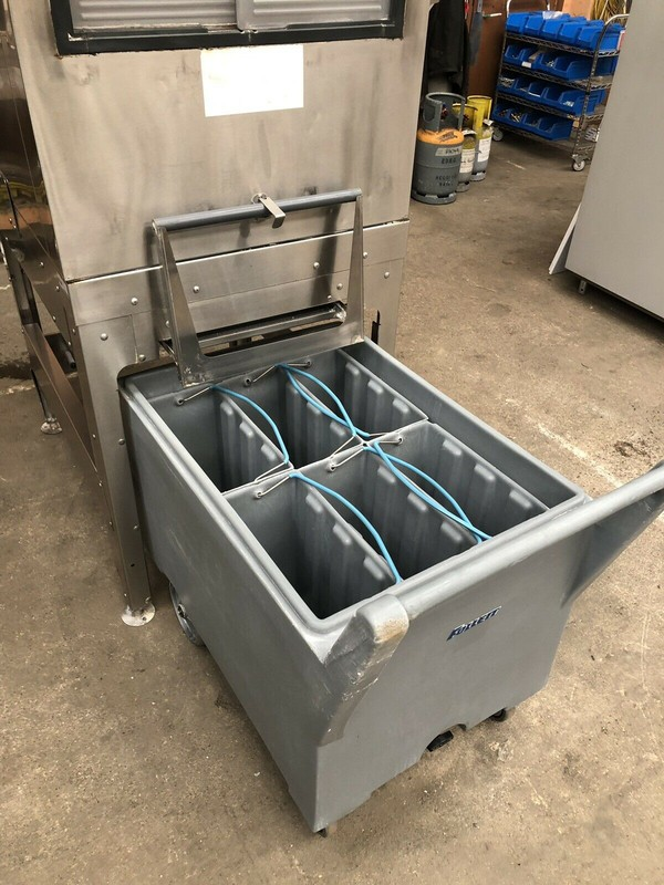 Second Hand Follet Ice Flaker & Smart Cart With Inspection Pane