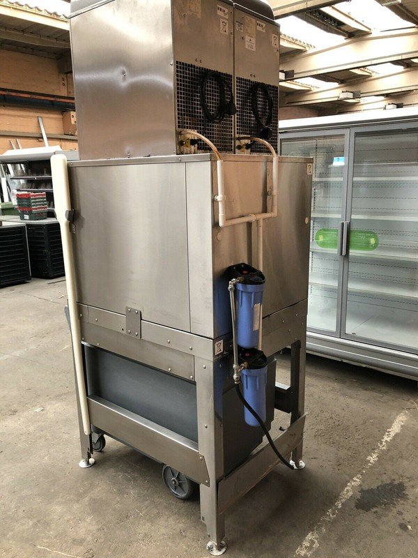 Used Follet Ice Flaker & Smart Cart With Inspection Pane