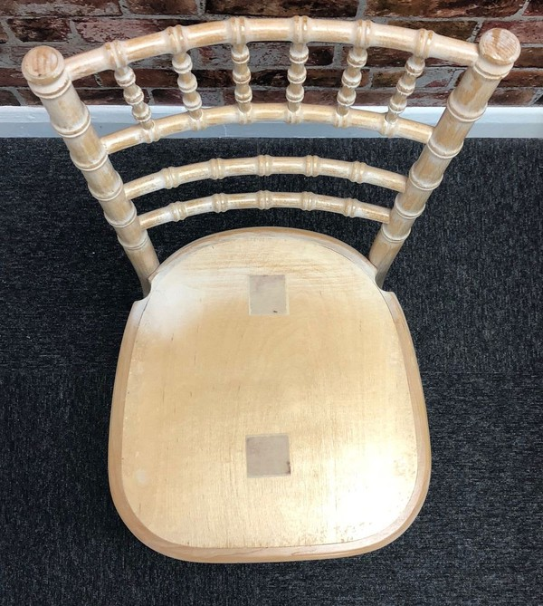 Secondhand chivari chairs