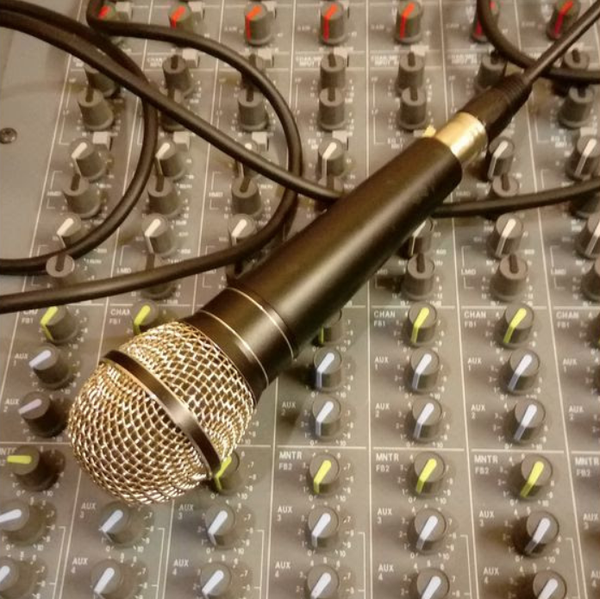 Soundcraft mixing desk