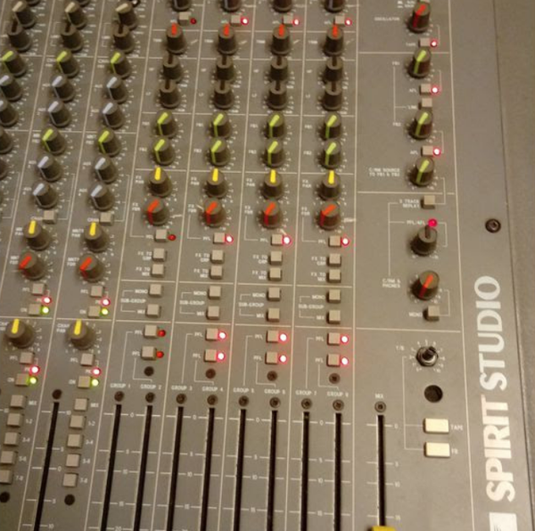 Used 24 channel mixing desk