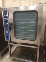 Second Hand Electrolux LPG Gas 10 Grid Steam Convection Oven FCG102