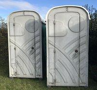 2 Single Toilet Units