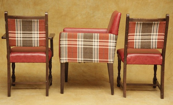 Matching Tartan Chairs