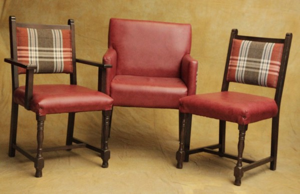 Mixed Tartan Chairs