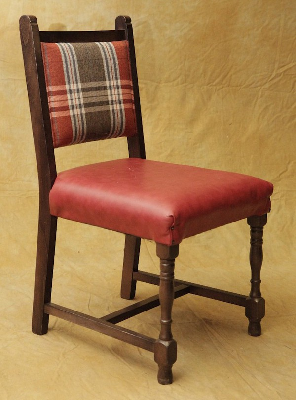 Tartan Upholstered Chairs