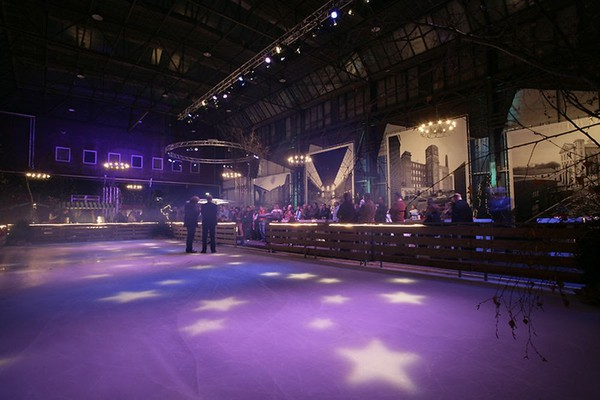 Complete Used 300m2 AST Ice Box Ice Rink