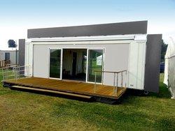 Exhibition hospitality units