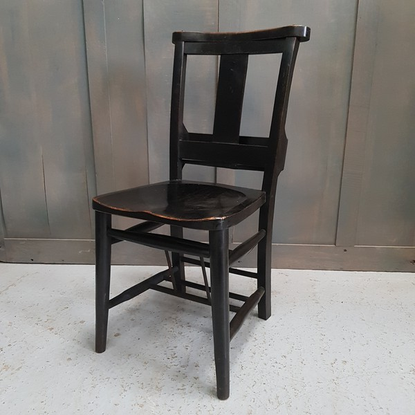 Secondhand elm chairs