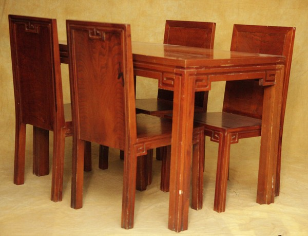 Chairs and tables set