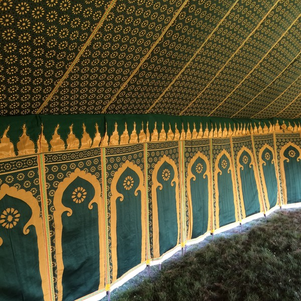 Used moroccan marquees