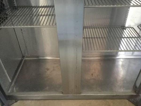 Secondhand 3 door bench chiller