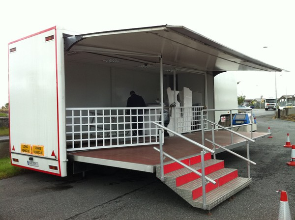 Exhibition Extendable 35ft Trailer