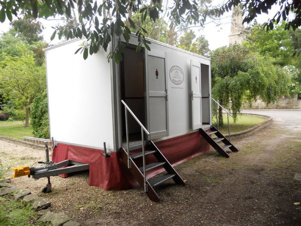 Wedding toilet hire business for sale