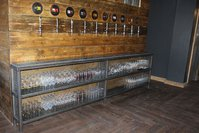 Self serve beer wall
