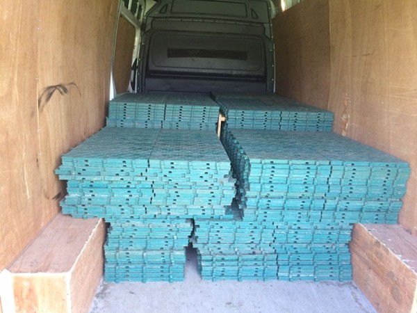 Secondhand flooring for sale