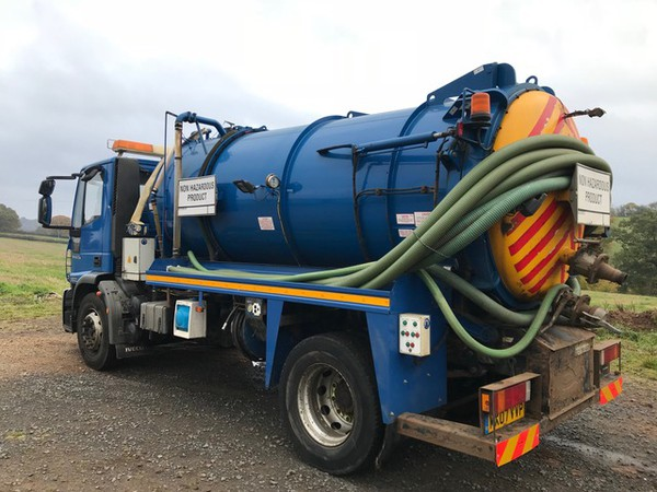 Secondhand vacuum tanker