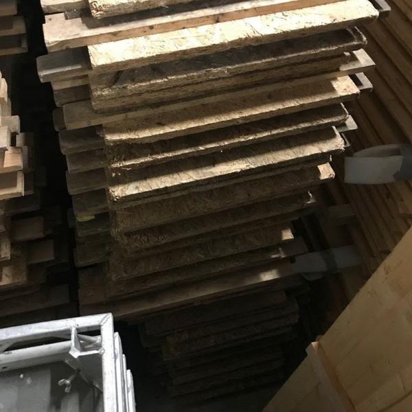 Used flooring