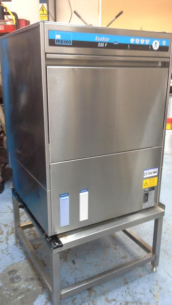 Meiko 530f - Built In Softener Under ControDiher