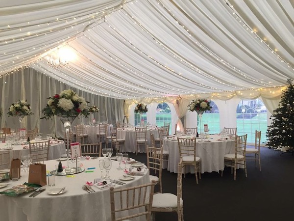 Kentish Full Marquee Wedding Package