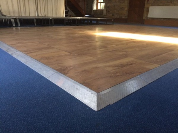 Wood Dance Floor For Sale Ex Hire Stock Very Good Condition West Yorkshire