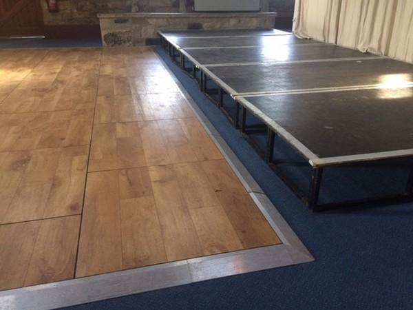 Used dance floor