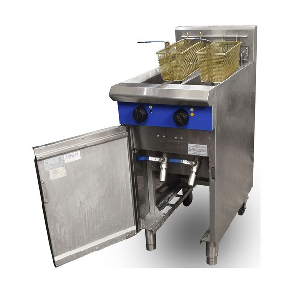 Used double fryer for sale