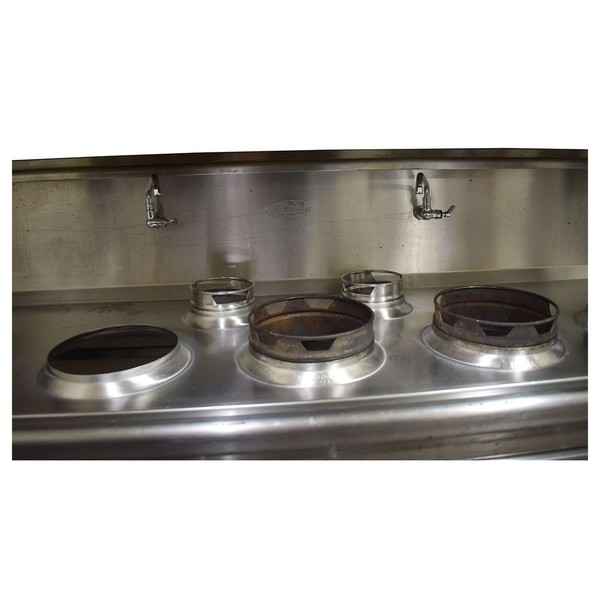 Used wok cooker