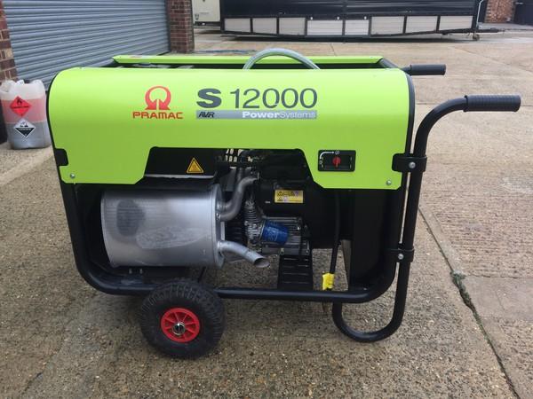 Used Pramac S12000