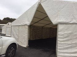 Secondhand marquees