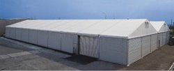 Steel Sided Temporary Warehousing