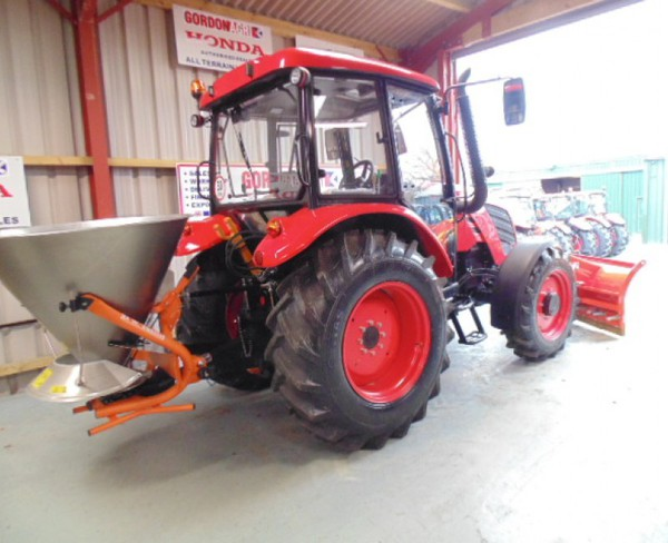Zetor Major 80CL 4WD Farm tractor, fitted with DW Tomlin Snow Plough & Salt Spreader